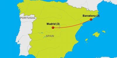 Carte De Lespagne Barcelone.Barcelone Carte Cartes De Barcelone Catalogne Espagne
